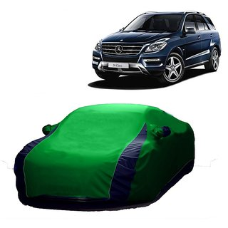 RideZ Car Cover For Mitsubishi Outlander (Designer Green  Blue )