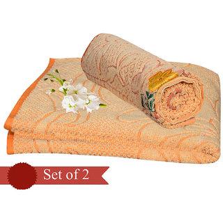 Combo Pack Of 2 Cotton Bath Towel - Hhtwl03