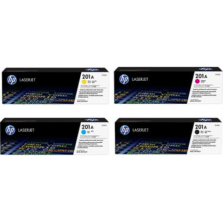 HP 201A black/Cyan/Magenta/Yellow Original LaserJet Toner Cartridges 4 pack HP Color LaserJet Pro M252 MFP M277
