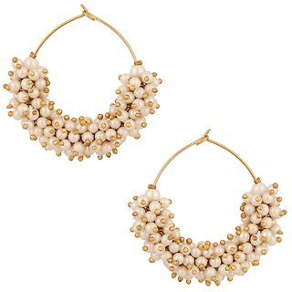 Jewels Capital Exclusive White Earrings Set /S 1488
