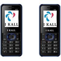 Set Of 2 IKall K25 Multimedia Mobile Alongwith 1 Year (