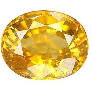 Jaipur Gemstone 11.25 carat yellow sapphire(pukhraj)