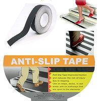 L5M W25mm Anti Slip Anti-slip Tape Non Skid Nonskid Tape Adhesive PVC Tape Black