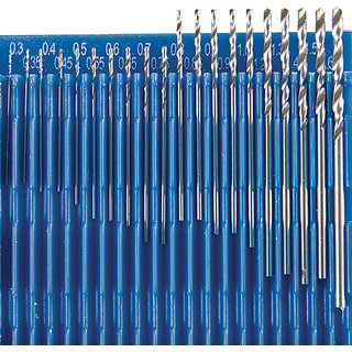 20 Piece 0.3 1.6 mm Diamond Micro HSS Twist Drill Bit Set Precision Craft And Ho