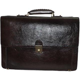 5ed669768ce0 Buy Bag Jack - Stylish holdall Sceptrum brown color laptop leather bag.  Online- Shopclues.com