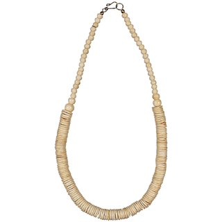 African handcrafted White necklaces