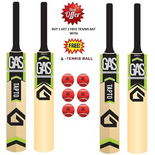 Gas  Kashmir Willow Cricket Bat SH Size