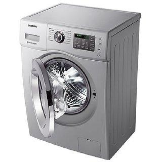 Samsung WF652U2BHSD/TL Fully-Automatic Front-Loading Washing Machine (6.5 Kg, Silver)