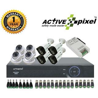 8 Camera 1 DVR CCTV Camera Kit