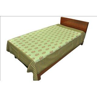Designer Exclusive Floral Print King Size Single Bed Sheet SRB2137