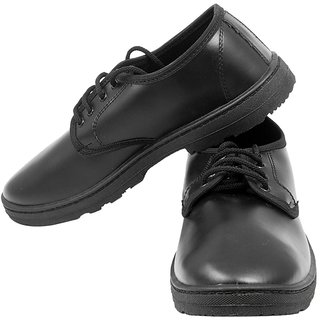 bfe7033b7d71 Synthetic Leather Black Pvc School Shoes available at ShopClues for Rs.299