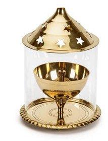 Decorate india Brass small akhand diya