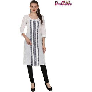 Desi Chhokri Women Cotton A-Line Kurti