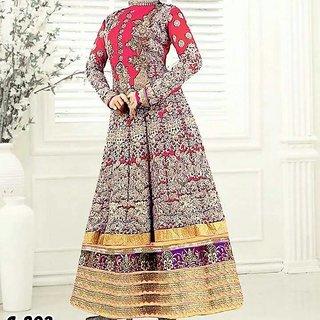 Lovisa Fashion Woman's Bangalory Silk Embroidered Lahenga Choli (MD01MaroonCholi)