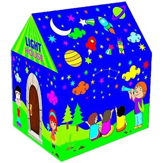 Awals Children LED Light Tent House