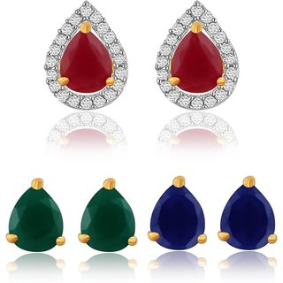 Jewels Gehna Party Wear Fashion Designer Unique Traditional Latest Earring Set With Earring Set For Women  Girls