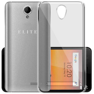 Swipe Elite 3 Transparent Soft Back Cover