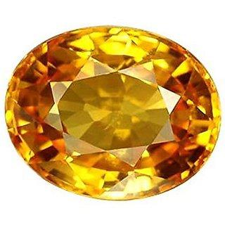 Jaipur Gemstone 11.50 ratti yellow sapphire(pukhraj)