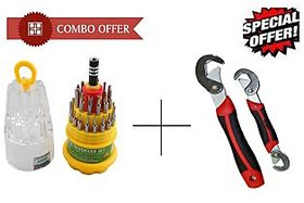 Kudos Combo of Jackly Magnetic 31 In 1 Screwdriver Set Snap N Grip