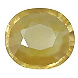 Jaipur Gemstone 10.25 ratti yellow sapphire(pukhraj)