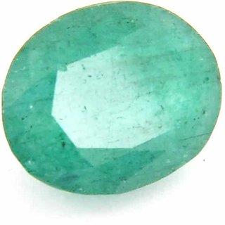 Raviour 7.75 Ratti/7.05 ct. Emerald/Panna Supreme Certified Natural Gemstone