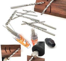 10pcs Micro HSS Drill Bits 3.0mm Straight Mini Twist Drill Electrich