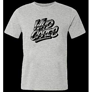 Tfactorie Men's Gray Color Tshirt