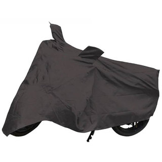 VMASHOPPERS Bike Body Cover GREY For Bajaj CT-100
