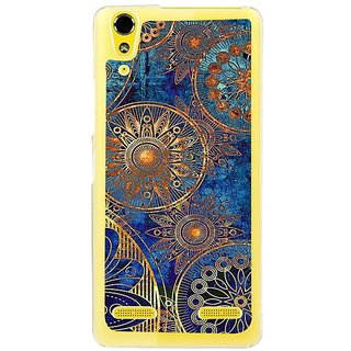 Fuson Designer Phone Back Case Cover Lenovo A6000 Plus ( Antique Old Drawings Within Circles )