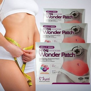 331d3a9572 Buy MYMI Wonder Patch Abdomen treatment patch Lose weight fast Slim patch fat  burners Online - Get 82% Off