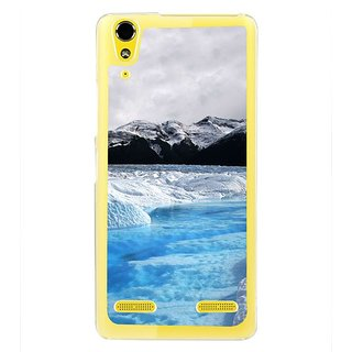 Fuson Designer Phone Back Case Cover Lenovo A6000 Plus ( Mesmerising Snowfall )
