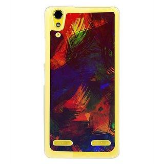 Fuson Designer Phone Back Case Cover Lenovo A6000 Plus ( Vibrant Painted Canvas )