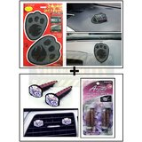 Foot Car Dashboard Sticky Pad / Anti Slip Mat + Vent Clip  AC Vent Car Air Freshener / Perfume