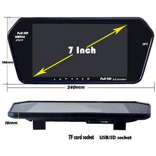 RWT 7 Inch Car Video Monitor Full HD Screen For Mahindra Logan Eva