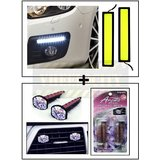 High Dentisity Thick Car Day Time Running Light (DRL) + Vent Clip  AC Vent Car Air Freshener / Perfume