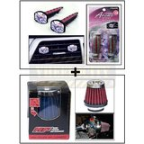 Vent Clip  AC Vent Car Air Freshener / Perfume + HP Air Filter / Bike Air Filter