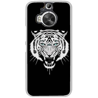 Fuson Designer Phone Back Case Cover HTC One M9 Plus ( The Many Eyed Tiger )