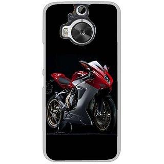 Fuson Designer Phone Back Case Cover HTC One M9 Plus ( Spotlight For The Bike )