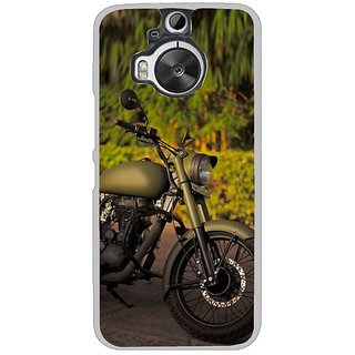Fuson Designer Phone Back Case Cover HTC One M9 Plus ( Vintage Bikes On Display )