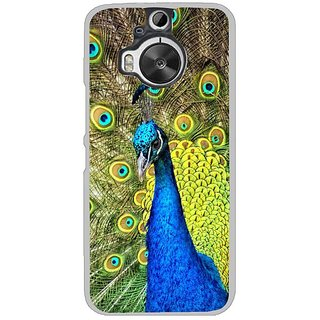 Fuson Designer Phone Back Case Cover HTC One M9 Plus ( Peacock With Vibrant Feathers )