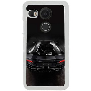 Fuson Designer Phone Back Case Cover LG Nexus 5X ( The Back Of The Sports Car )