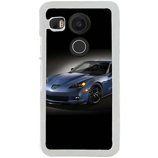 Fuson Designer Phone Back Case Cover LG Nexus 5X ( Display Of The Race Car )