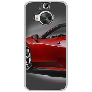 Fuson Designer Phone Back Case Cover HTC One M9 Plus ( Side Of The Car )