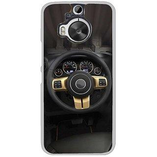 Fuson Designer Phone Back Case Cover HTC One M9 Plus ( Steering Wheel Of The Car )