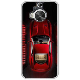 Fuson Designer Phone Back Case Cover HTC One M9 Plus ( Top View Of The Car )
