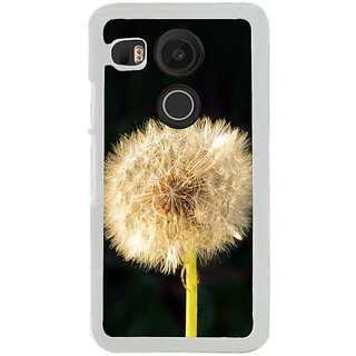 Fuson Designer Phone Back Case Cover LG Nexus 5X ( Dandelion On A Stick )