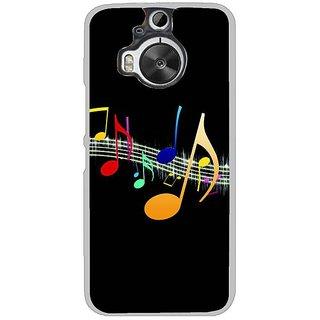 Fuson Designer Phone Back Case Cover HTC One M9 Plus ( A Musical Tone )