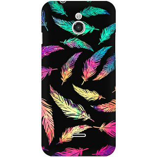 RAYITE Colourful Leaf Premium Printed Mobile Back Case Cover For InFocus M2