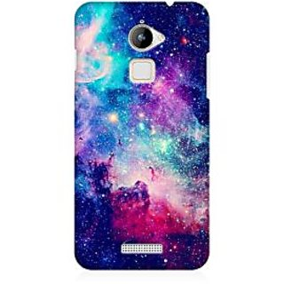 RAYITE Blue Galaxy Hub Premium Printed Mobile Back Case Cover For Coolpad Note 3 Lite