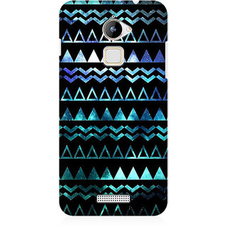 RAYITE Glowing Aztec Premium Printed Mobile Back Case Cover For Coolpad Note 3 Lite